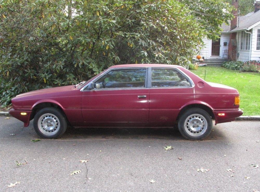 eBay: 1985 Maserati Biturbo 1985 Maserati Biturbo E II 2.5 V6 AM 453 Project Car