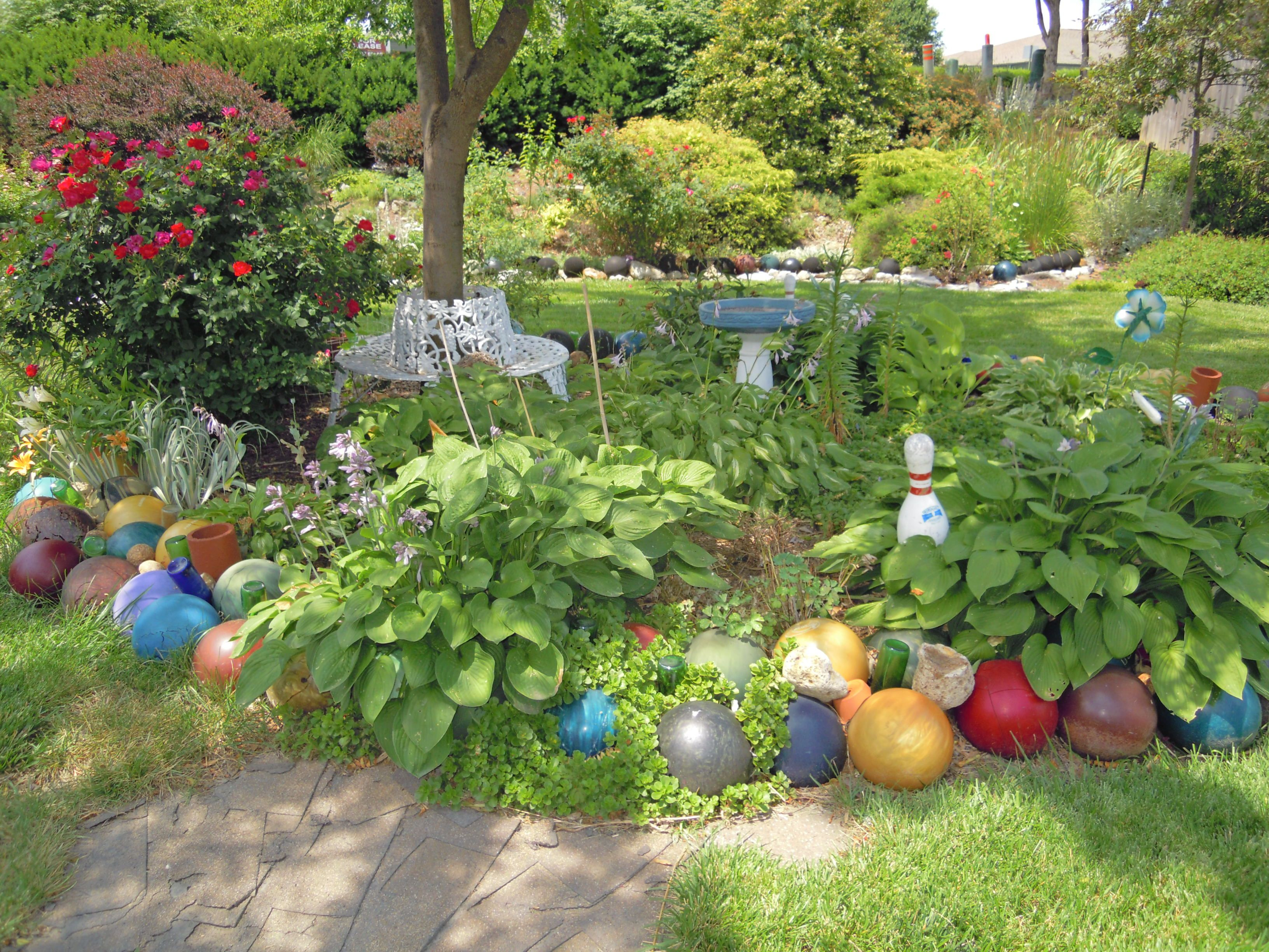 unique garden borders