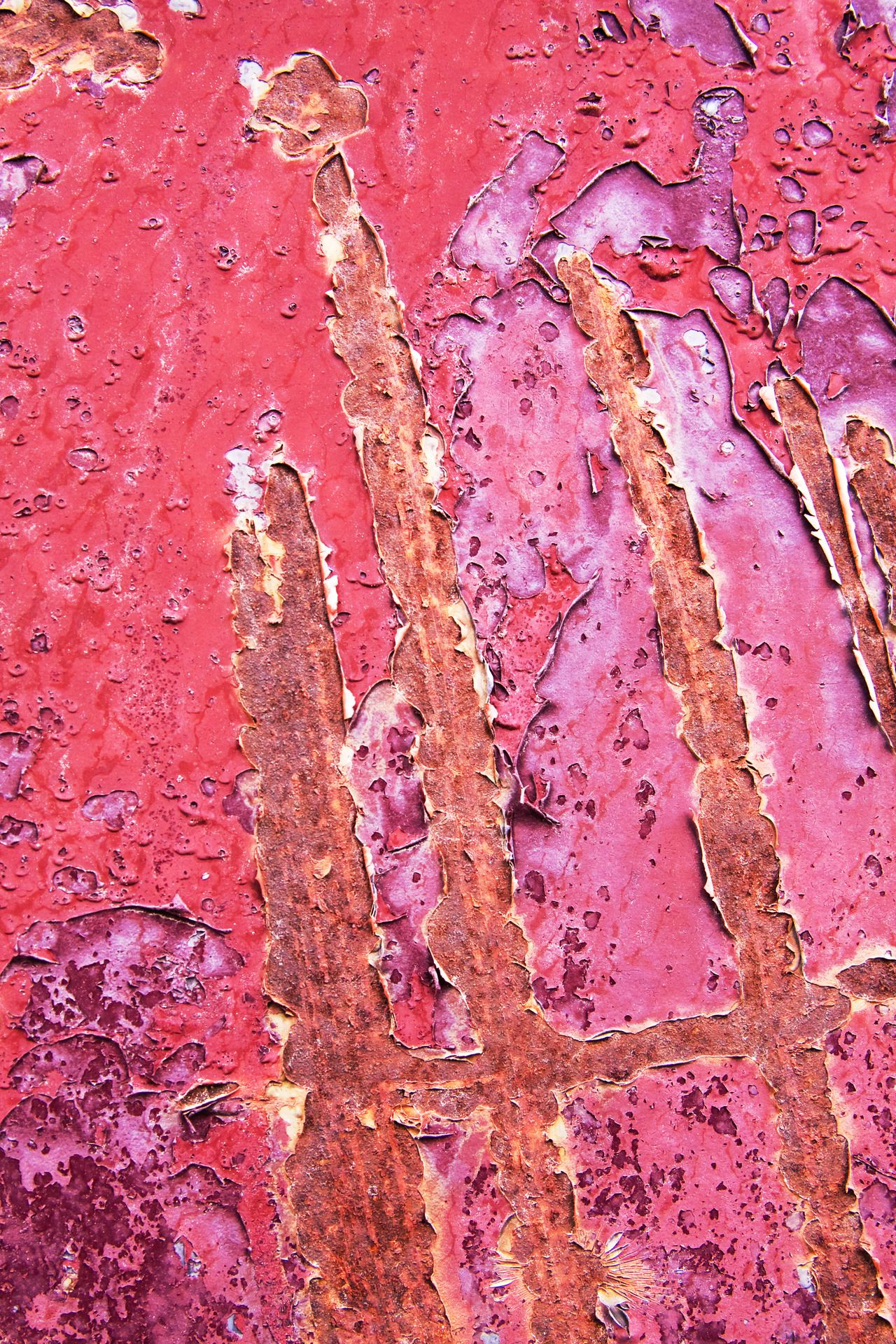 Rusted Pinks Peeling Paint Texture Art Texture