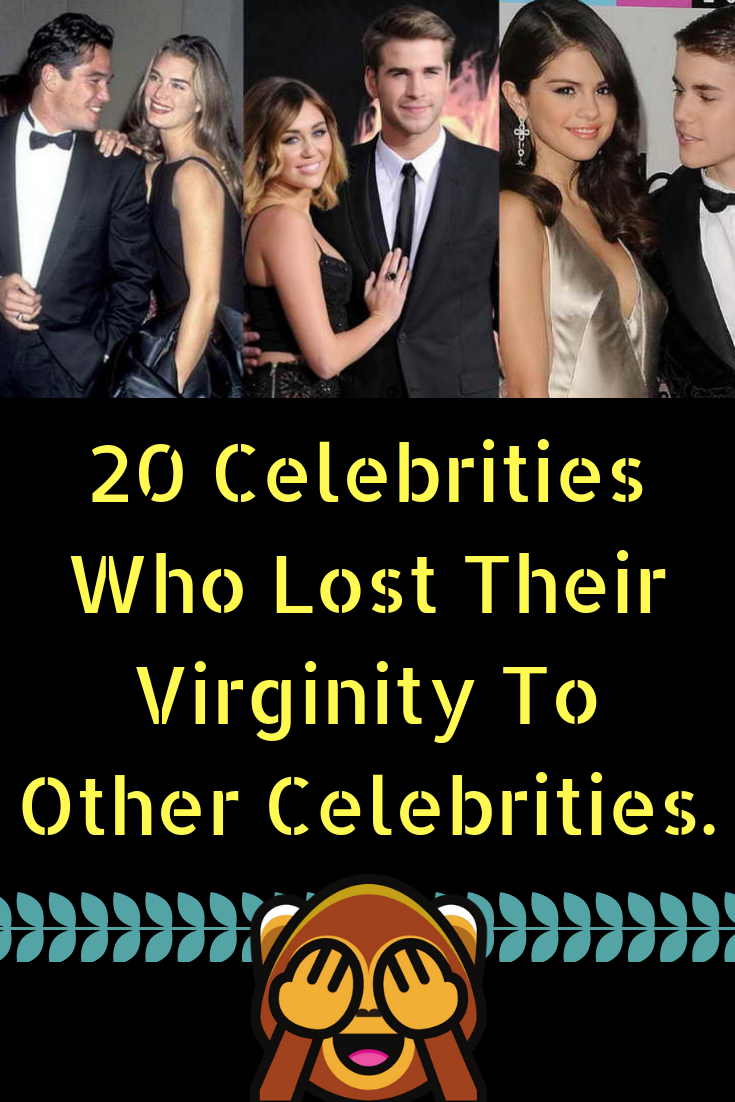 Are mistaken. Celeb lost virginity something