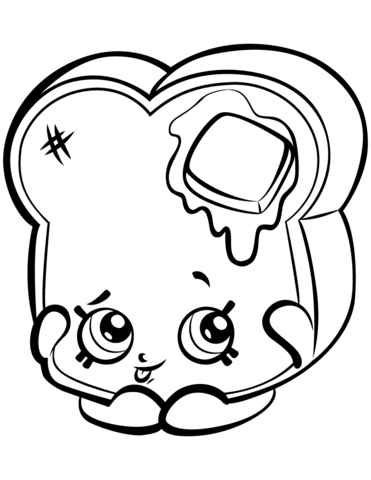 Toastie bread to print shopkins season 3 coloring pages printable and coloring book to print for free find more coloring pages online for kids and adults