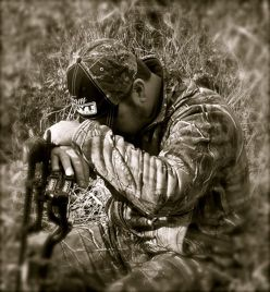 To be in this place at this time, me, God and the outdoors, I pray to thank God for the opportunity for this experience. It is surreal, quiet, a time to love God and all that He has done for me. Be a hunter for Him...........