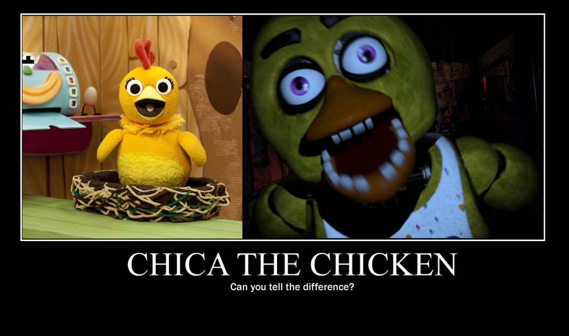 Five Nights at Freddy's Chica...is everywhere