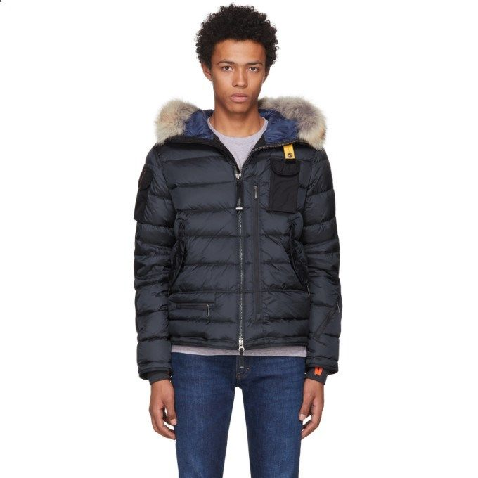PARAJUMPERS Navy Down Mountain Loft Ski Master Jacket. #parajumpers #cloth #