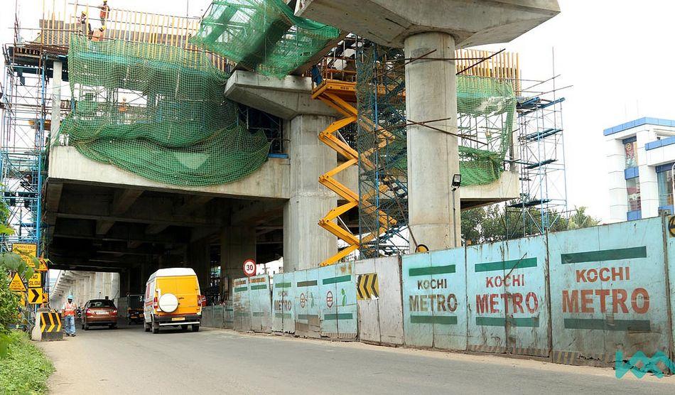 Kochi Metro Update KMRL to Resume Work on Maharajau0027s-Pettah - update resume