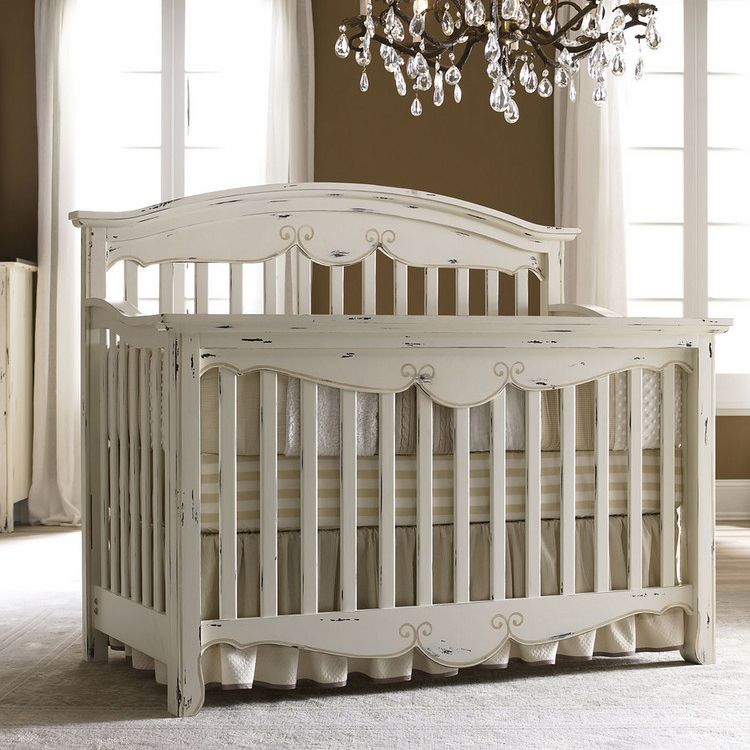 Baby baby - Bonavita Francais Collection Lifestyle Crib (Antique Cream
