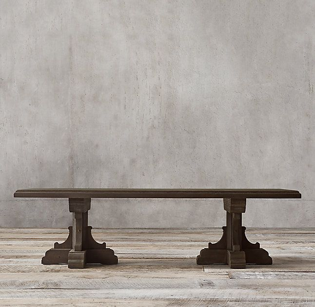 Rh S 17th C French Bastide Oak Rectangular Dining Table Evoking The Grandeur Of 17th Century French Baroque Design Dining Table Rectangular Dining Table Table