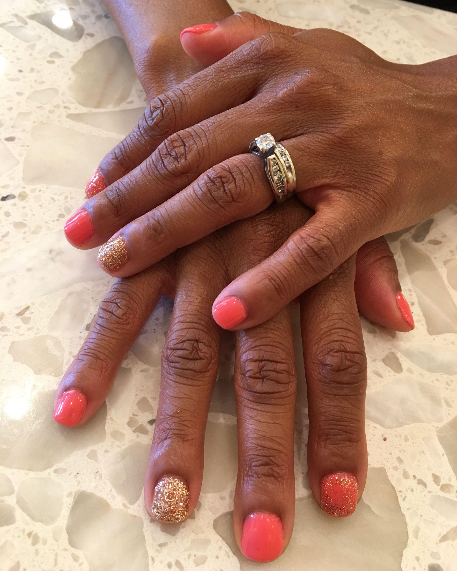 Haylee By Cacee Southwestcharlotte Envynailspaclt Gelnails Gelcolor Gelmani Cacee Envynailspaclt Gel Mani Gel Nails Gel Color