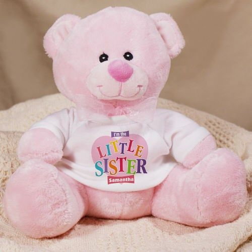 Big Sister Heart Plush Teddy Bear