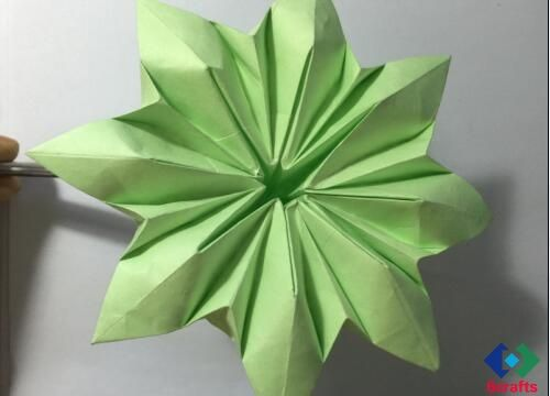 Origami Flower With Eight Petals Origami 8 Petal Flower Folding