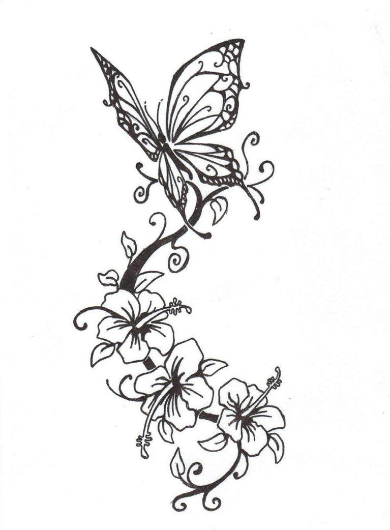 64fe4b7e3 Modern Flower Drawing at GetDrawings.com | Free for personal use ...