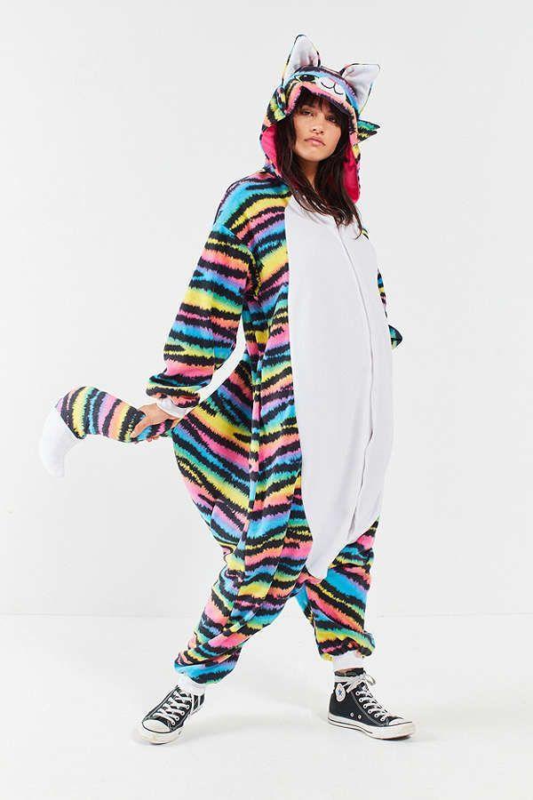8cfde95428a Urban Outfitters Kigurumi Rave Cat Costume