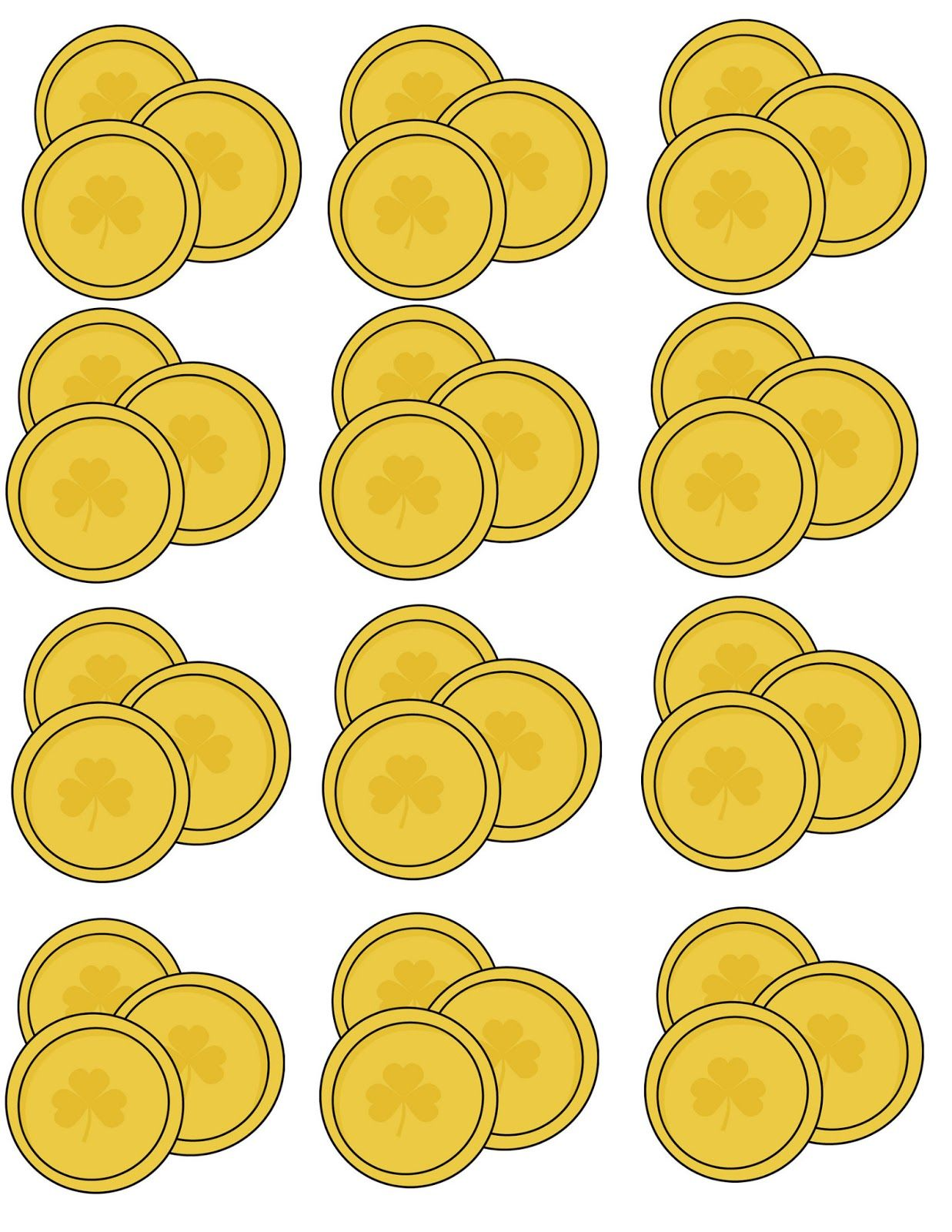 Pot Of Gold Template