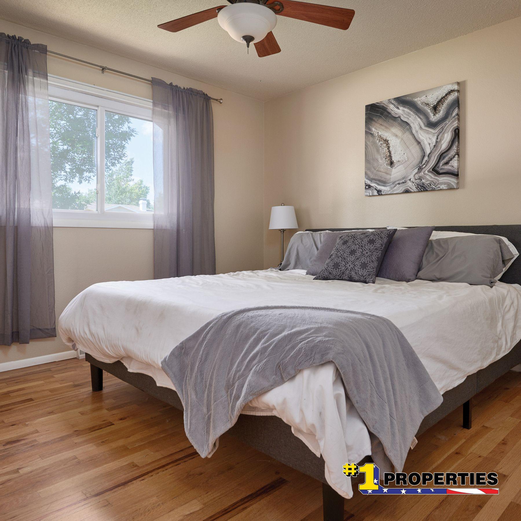 Hardwood Floors For The Win Openhousethursday 7005 Manhattan Lane Cheyenne Wyoming Cheyennehomes Realestate Househunting Bedroom Design Home Decor Home