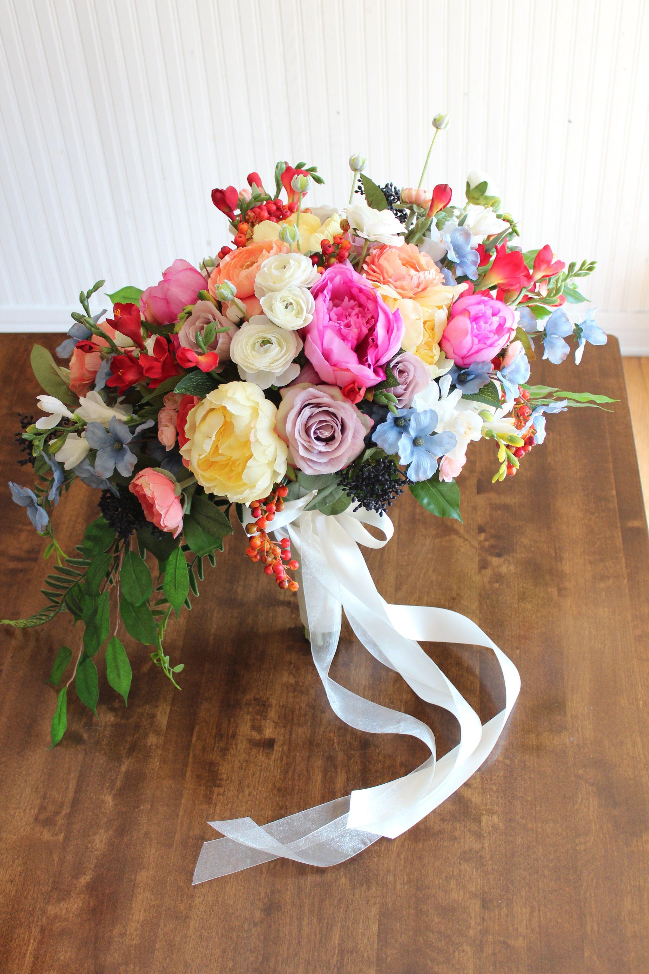 Whimsical Silk Wedding Flowers Whimsical wedding flowers