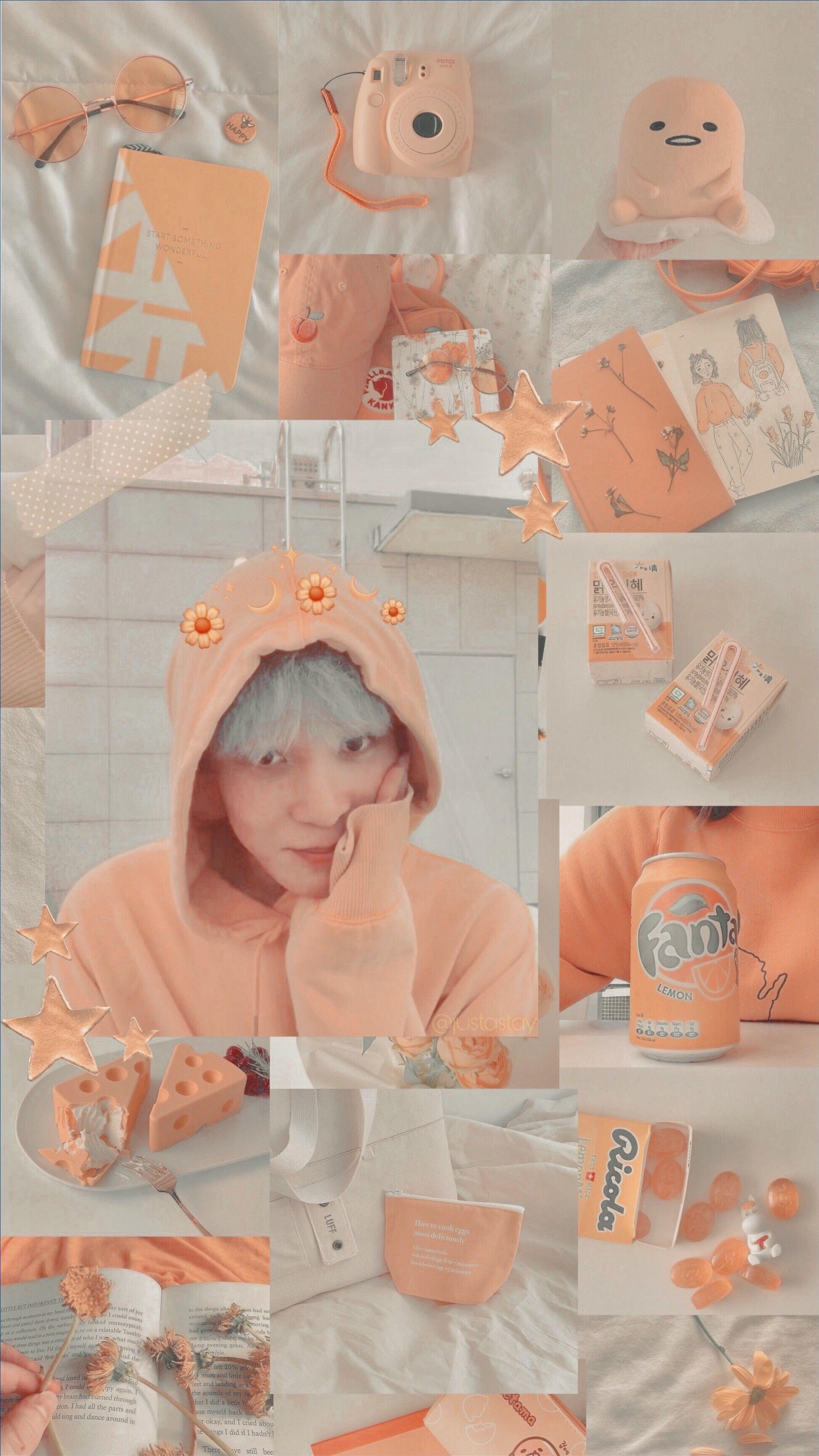 Iphone wallpaper orange, Soft orange ...