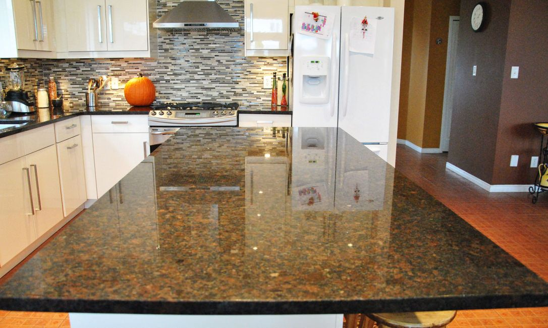 Coffee Brown Granite Countertops Color For Kitchen Granite