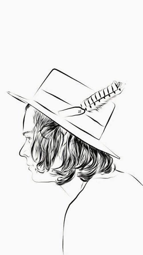 Pin De Sweet Creature En Fondos De Pantalla Harry Styles Dibujos De One Direction Harry Styles Dibujo Tatuajes De One Direction