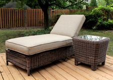 Rattan Chaise Lounges Wicker Chaise Lounges Tropical Chaise