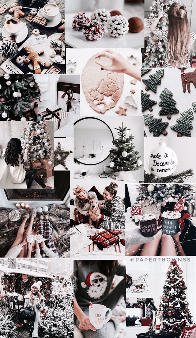 Christmas Collage Wallpaper Cute Christmas Wallpaper Christmas Wallpapers Tumblr Wallpaper Iphone Christmas