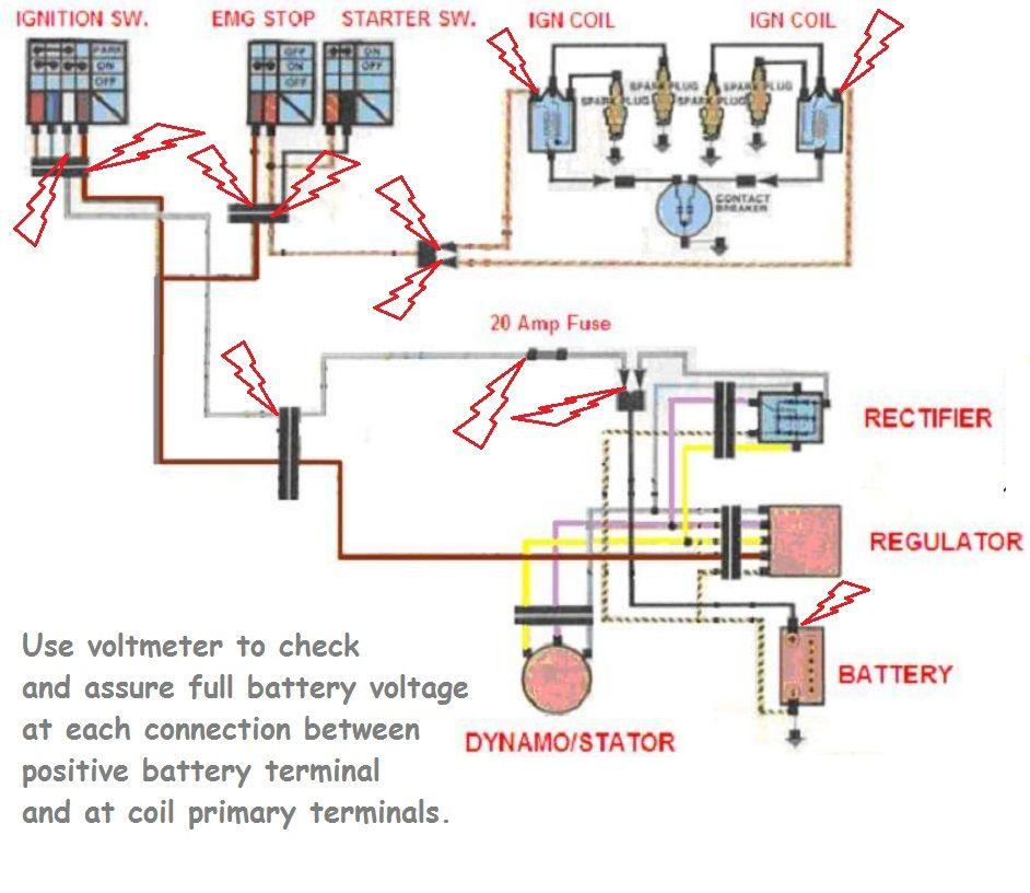 78 Kz1000 B2 Wiring Schematic Wiring Schematic Diagram