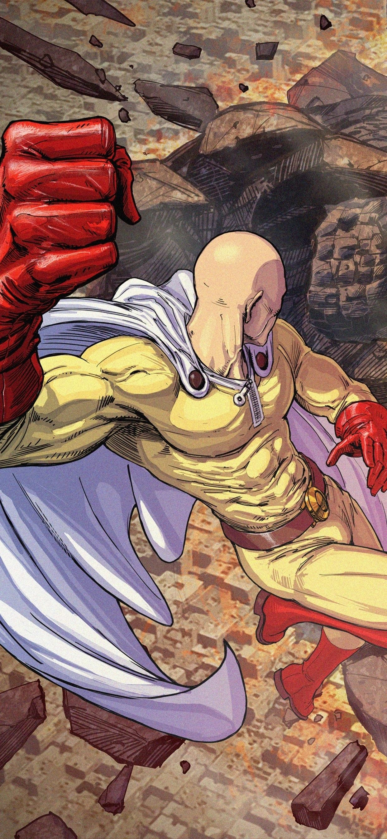 One Punch Man Wallpaper Iphone Xs Max Wallpaper Nice In 2020 Man Wallpaper One Punch Man One Punch