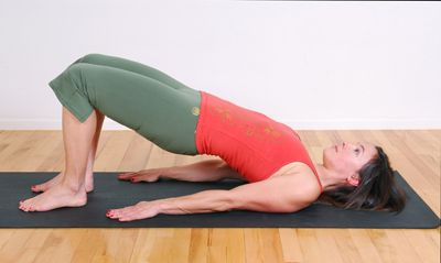 quick pilates workout can tone your body while on a mat