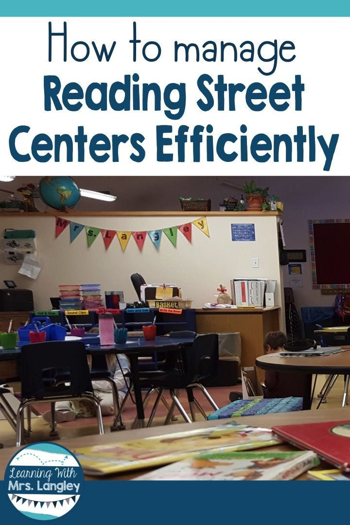 Managing Reading Street Centers Efficiently Reading