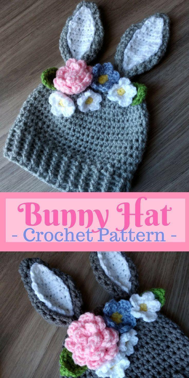Crochet Bunny Hat Pattern Amazing Ideas