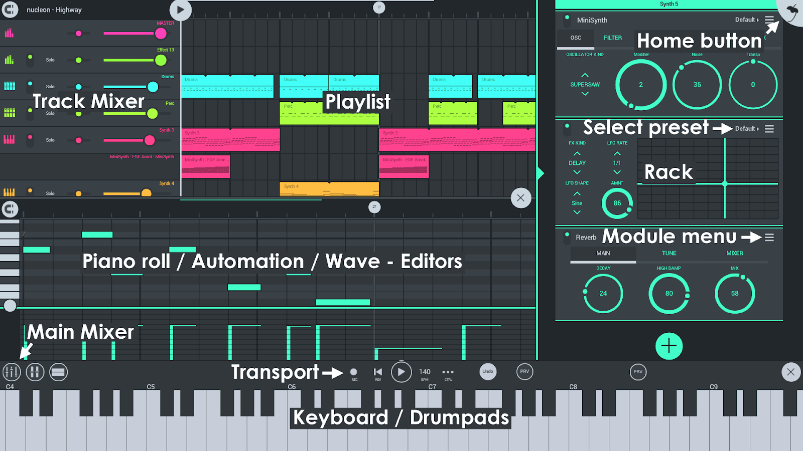 FL Studio Mobile Full 3.2.34 Apk + Obb Data + Mod Free