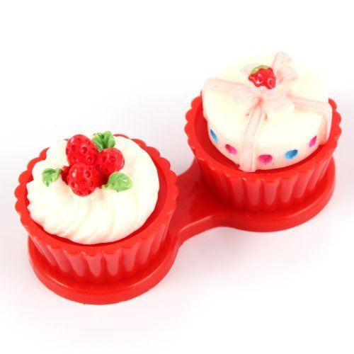 3D Cute Lovely Cream Cake Portable Mini Contact Lenses Case Holder Box Red, http://www.amazon.com/dp/B00FF6MTDA/ref=cm_sw_r_pi_awdm_1Zq0vb18SVWNZ