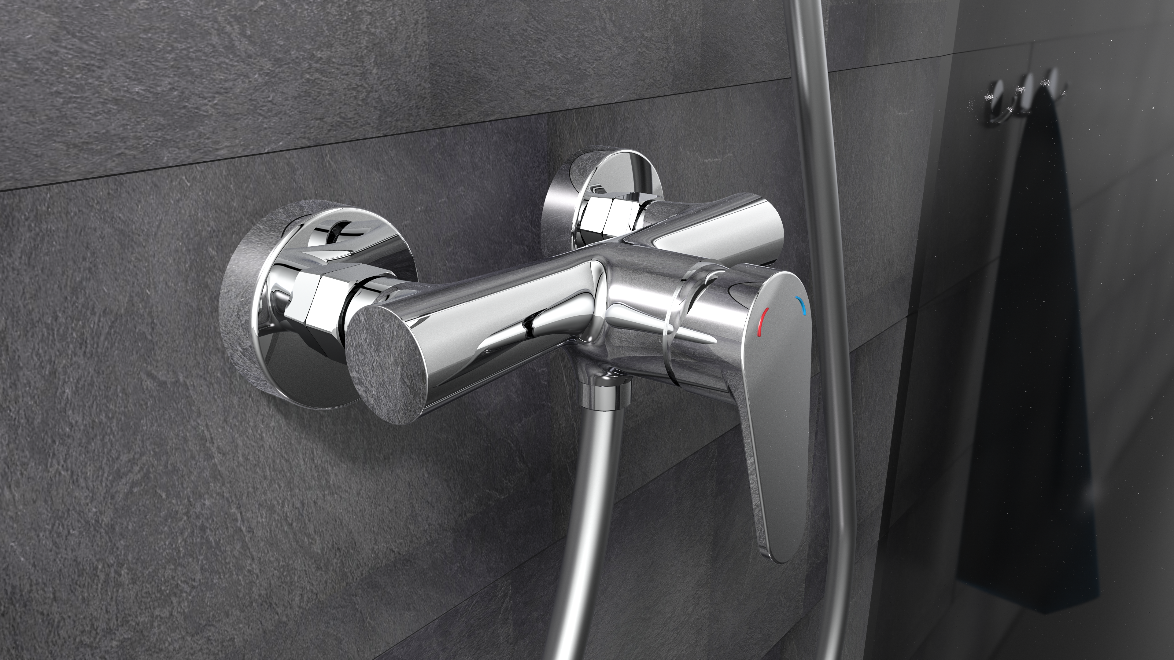 Duscharmatur Pico Duschwasserhahn Wasserhahn Mischbatterie Chrom In 2020 Duscharmatur Dusche Mischbatterien