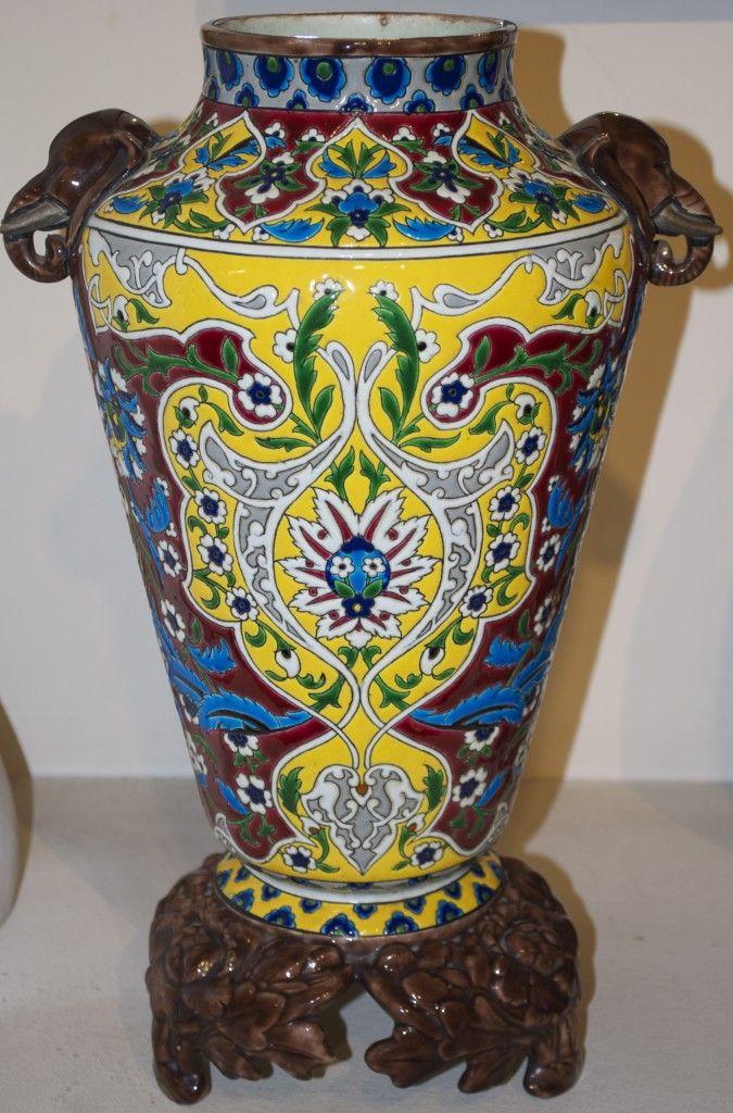 Jules Vieillard Bordeaux Vases Potte