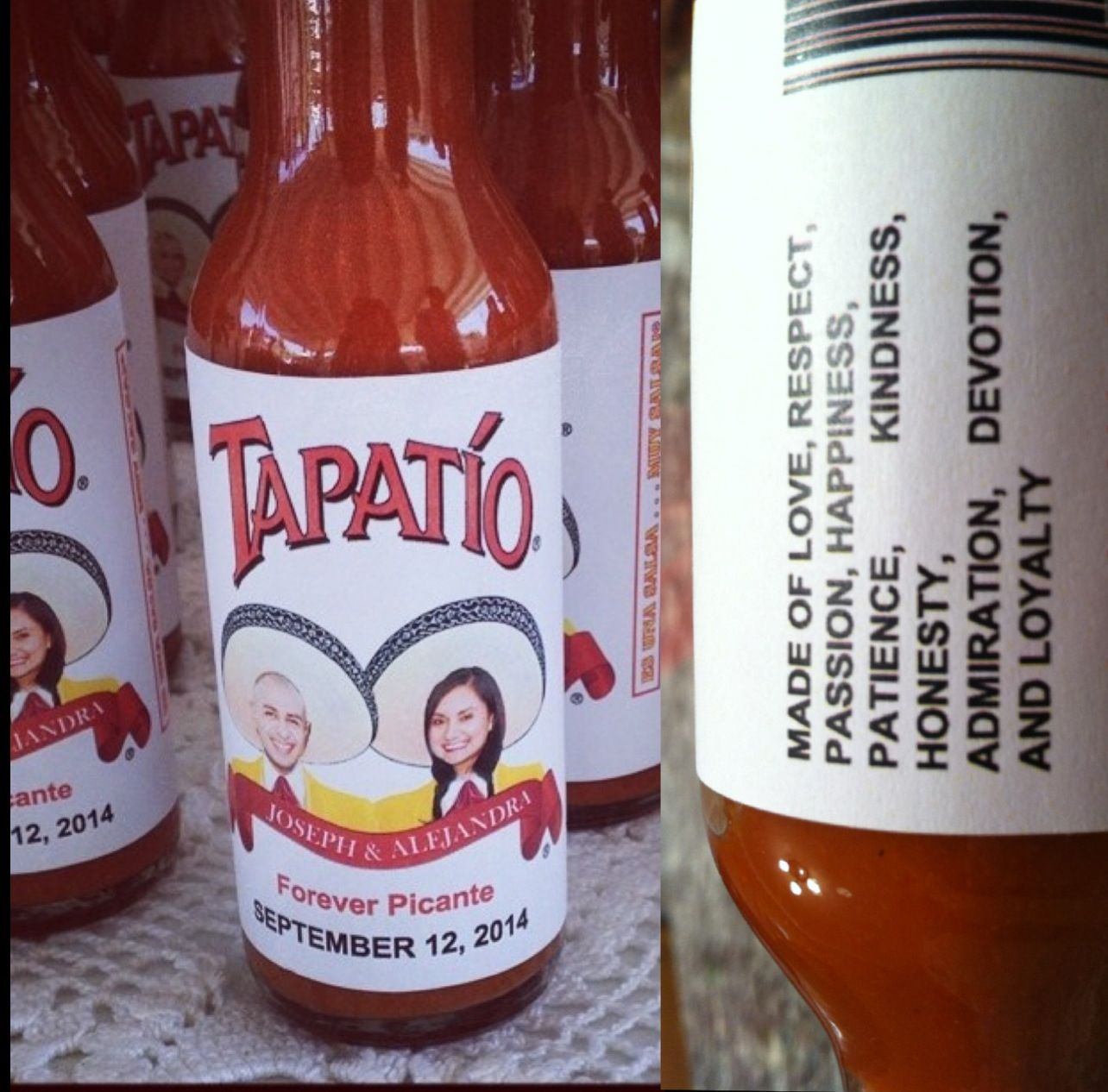 tapatio wedding favors  mexicantheme  mexicanwedding