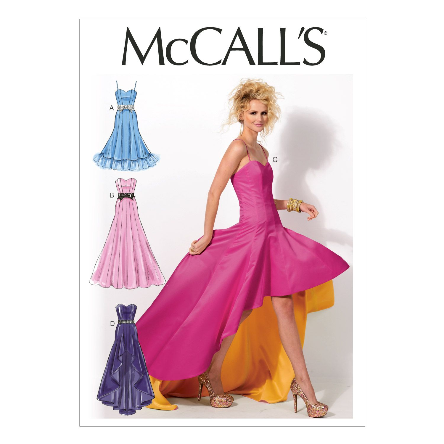 McCall\'s Misses Special Occasion-M6701 | Patrones