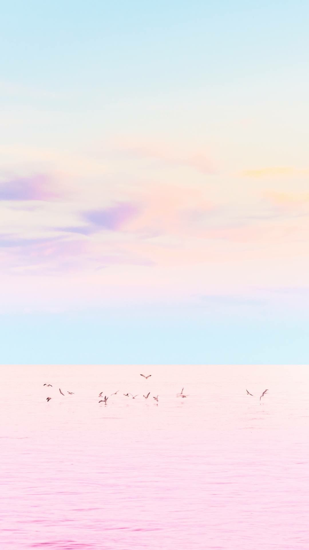 Just Love These Colors Iphone Wallpaper Sky Minimalist