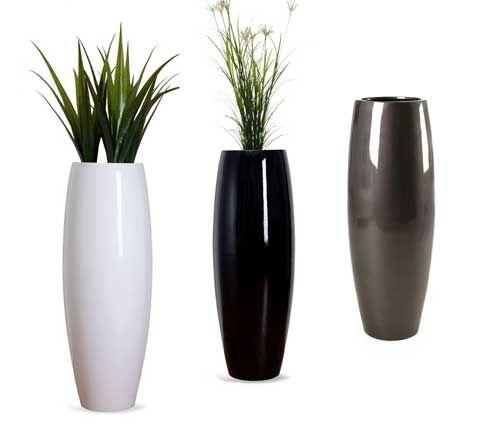 pflanzkuebel-magnum-hochglanz | Black & White - in Haus & Garten ...