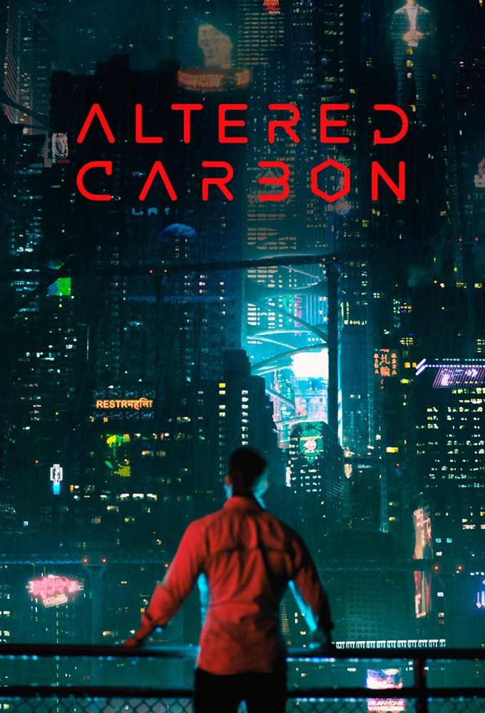 Altered Carbon (2018)   Carbon tv, Altered carbon, Tv series to watch