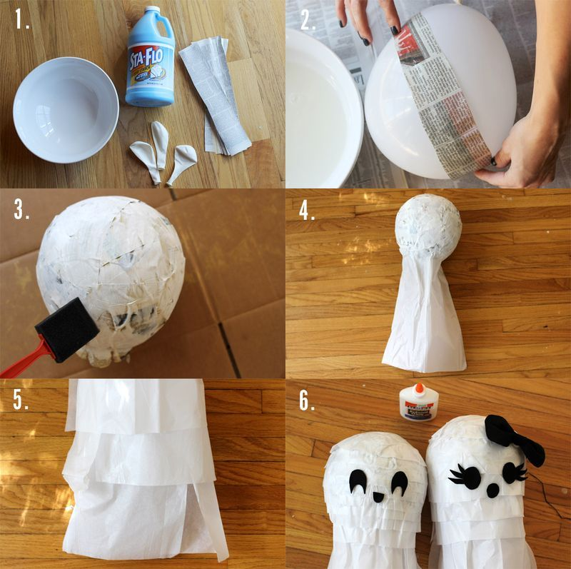 Here S A Little Step By Step For Ghost Pinatas For Any