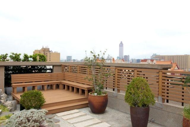 Terrasse en bois composite- conseils de pose et photos inspirantes
