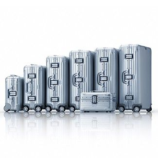 The Absolute Lightest And Best Rimowa Topas Luggage Silver