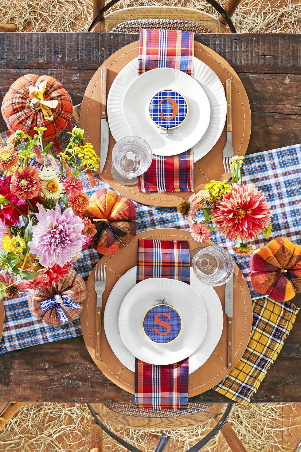 55 DIY Thanksgiving Table Settings to Wow All Your Holiday ...