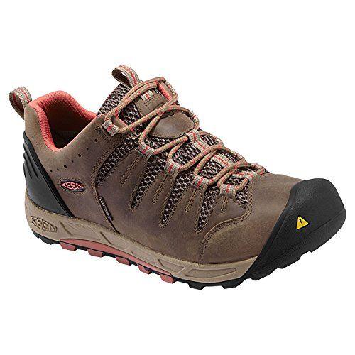 Keen Men's Shoes BRYCE WP - Walking shoes - shitake/bossa nova
