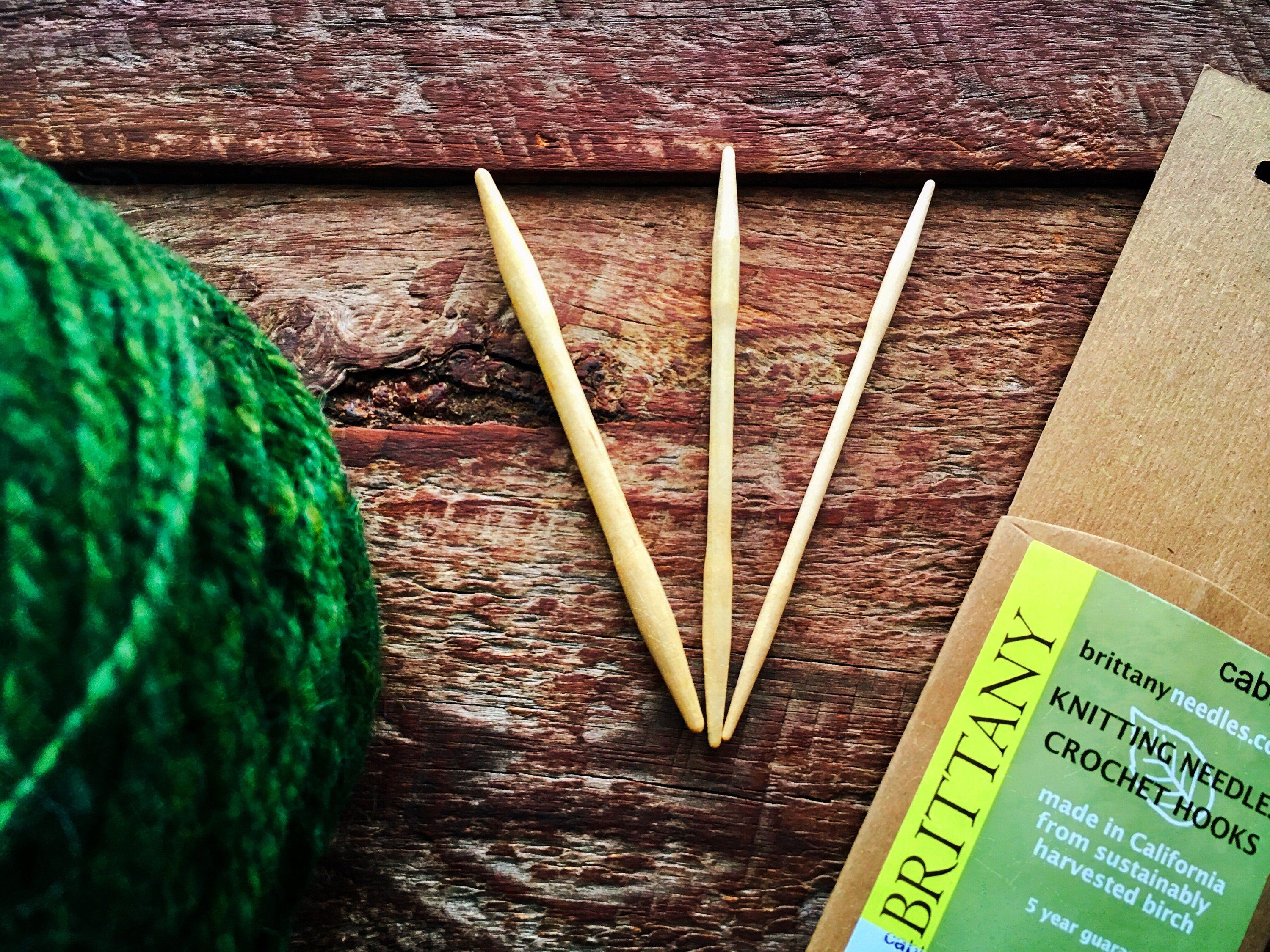Everybody Needs Wooden Cable Needles Knitting Patterns Cable