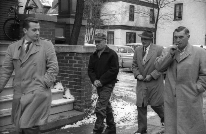 Ed Gein Getting Arrested With Images Serial Killers