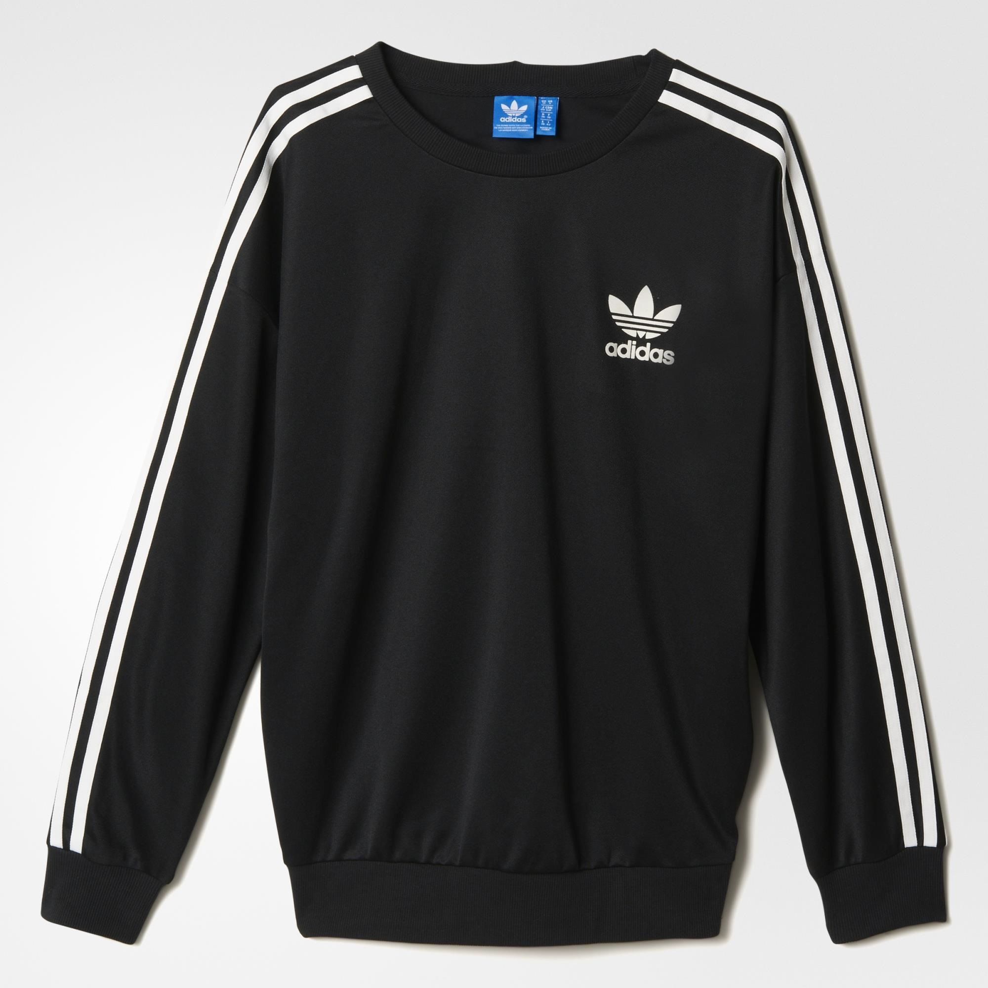 adidas Beckenbauer Sweatshirt - Black   adidas Australia ...