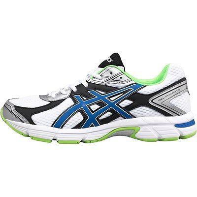 38f49e7ac670 New asics mens gel pursuit 2 neutral running  shoes  white blue green