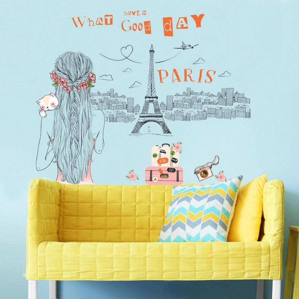Simple Design wall stickers home decor living room Home Decor Mural ...