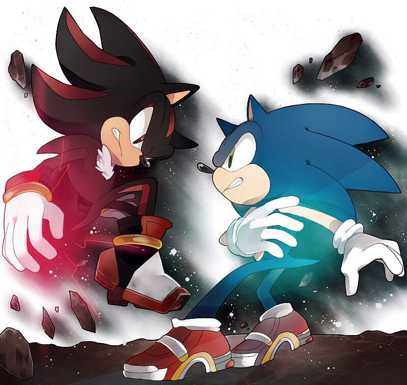 Shadow vs sonic sonic pinterest hedgehogs - Jeux de sonic vs shadow ...