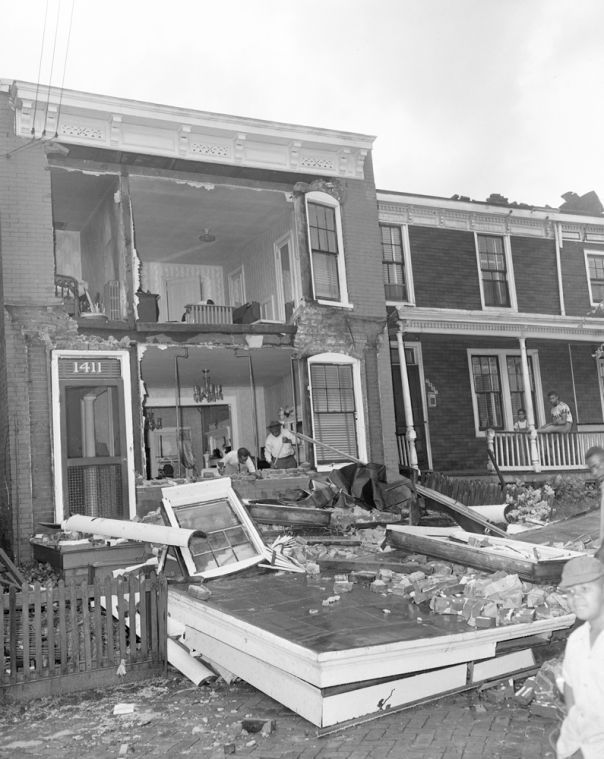 Photos Richmond Tornado Of 1951 Richmond Richmond Virginia Richmond Va